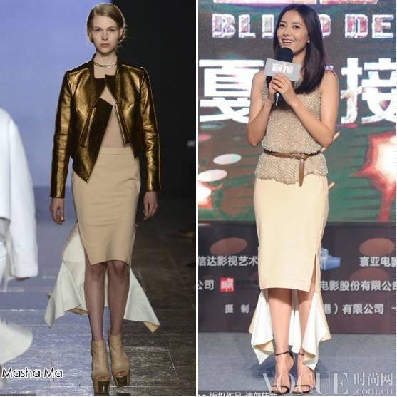 杨颖周迅高圆圆清雅着装亮相 - VOGUE时尚网 - VOGUE时尚网