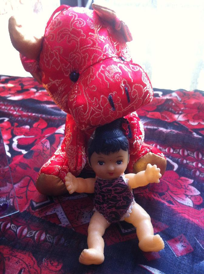 【凌波园散文】我和三角兜娃娃 - 凌波微步 - 凌波微步的诗意梦圆之博客