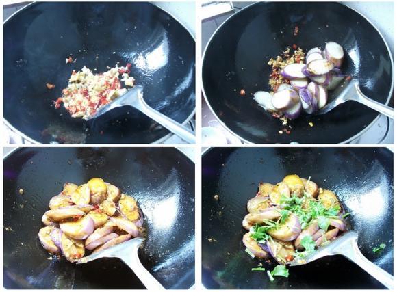 茄子的省油做法-鱼香茄片 - 顺其自然 - 顺其自然