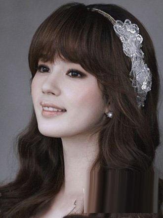 5款唯美韩式新娘发型 打造不同的风格