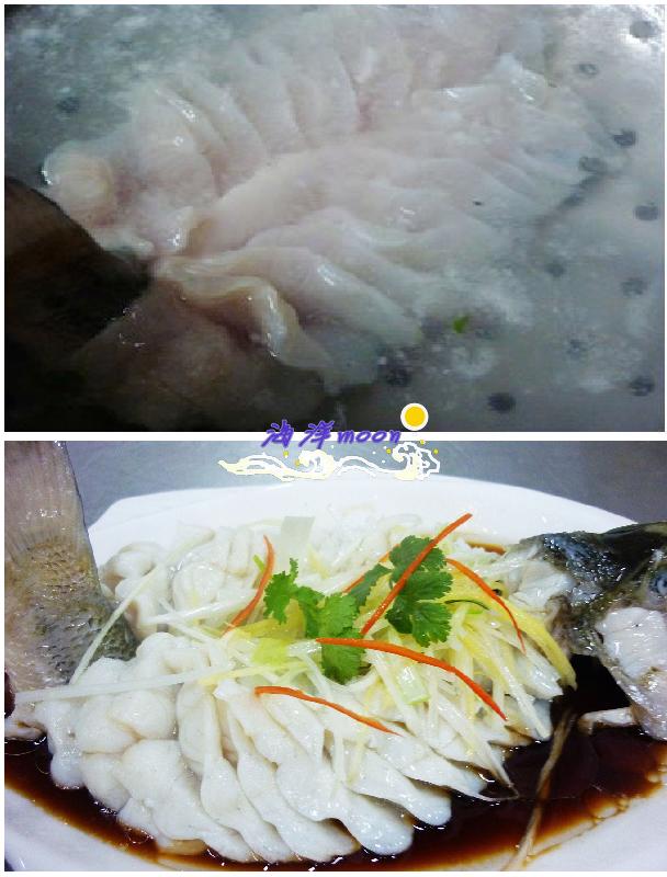 【河鲜美】——水汆鲈鱼 - 慢生活美食客 - 慢生活美食客