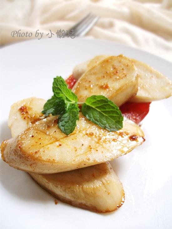 三分鍾快手菜--椒盐香煎杏鮑菇 - 慢生活美食客 - 慢生活美食客