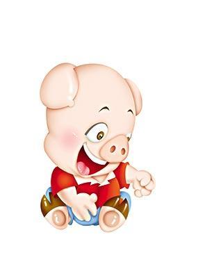 最可爱的小猪图片