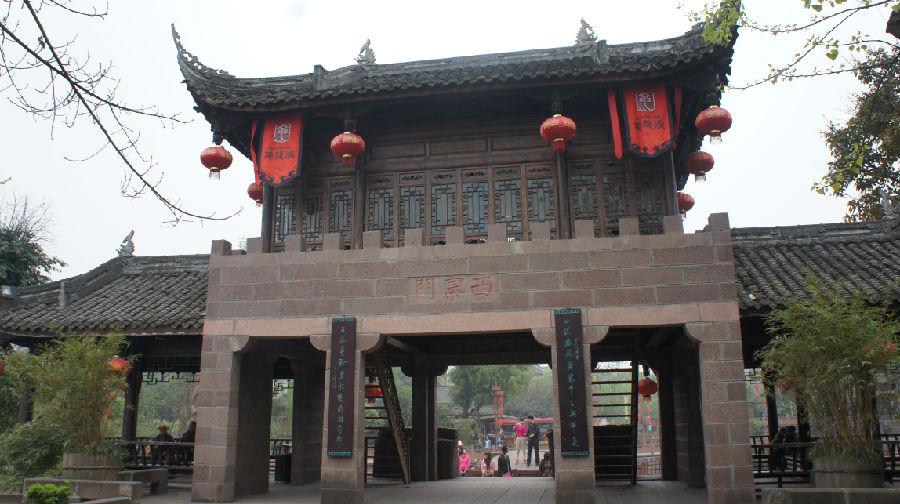 中国天府第一名镇——黄龙溪 - 余昌国 - 我的博客