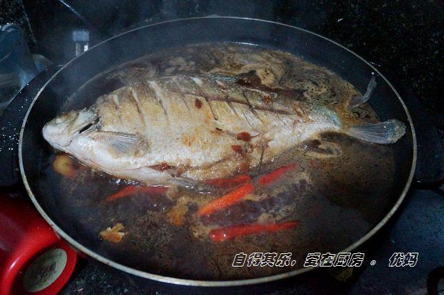 [河鲜美]鲜香到骨子里的干烧扁鱼 - 慢生活美食客 - 慢生活美食客
