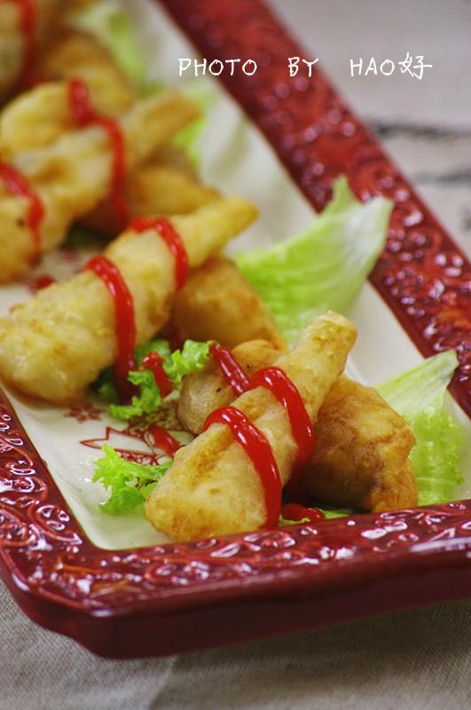 外酥里嫩:粉裹豆腐鱼 - 慢生活美食客 - 慢生活美食客