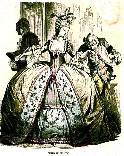 18世纪欧洲服饰