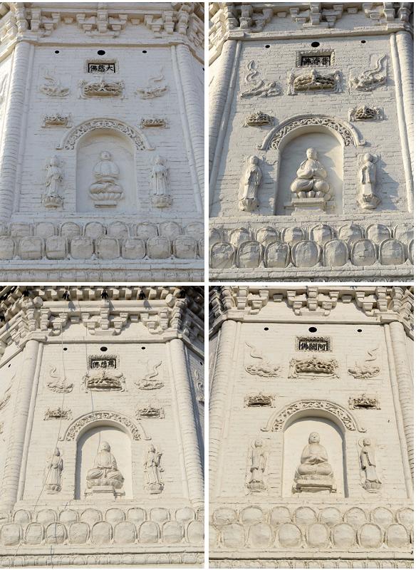 古塔的地宫结构图