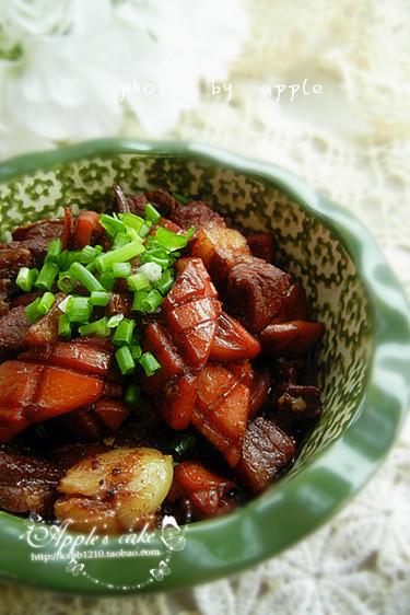 麻辣鱿鱼烧五花肉——欲罢不能的味道 - 慢美食 - 慢   美   食