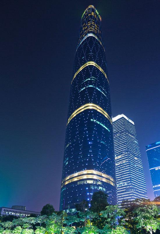 广州珠江新城西塔