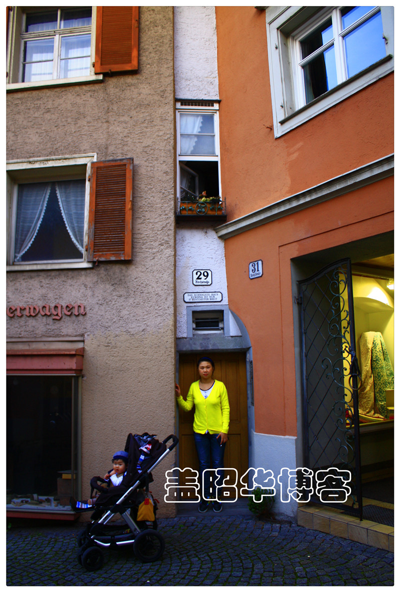 欧洲最窄楼房有多苗条 - 防字604 红红 - 防字604 红红