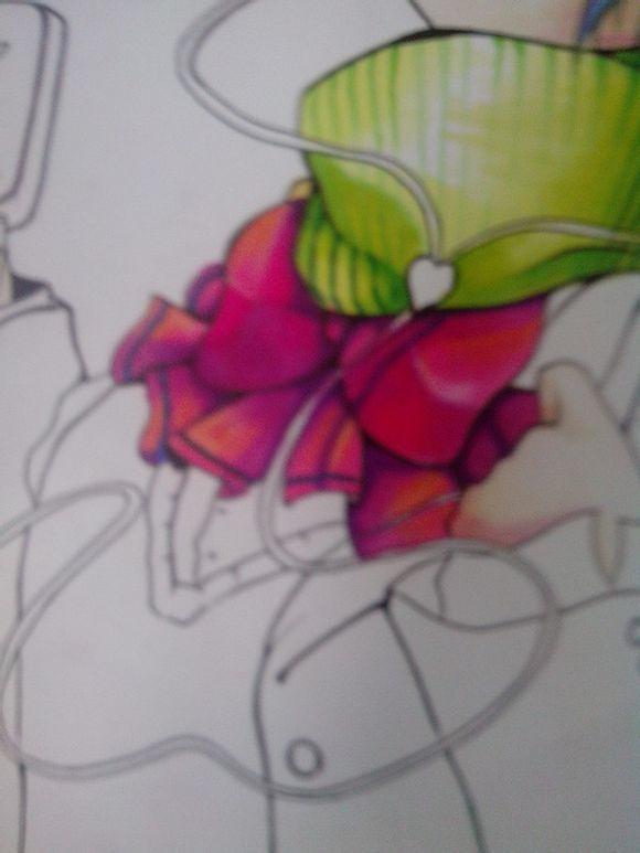 立体画图片手绘素描蛇