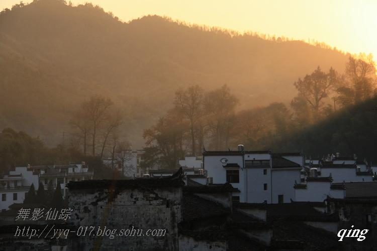 晚秋婺源——长溪印象 - H哥 - H哥的博客