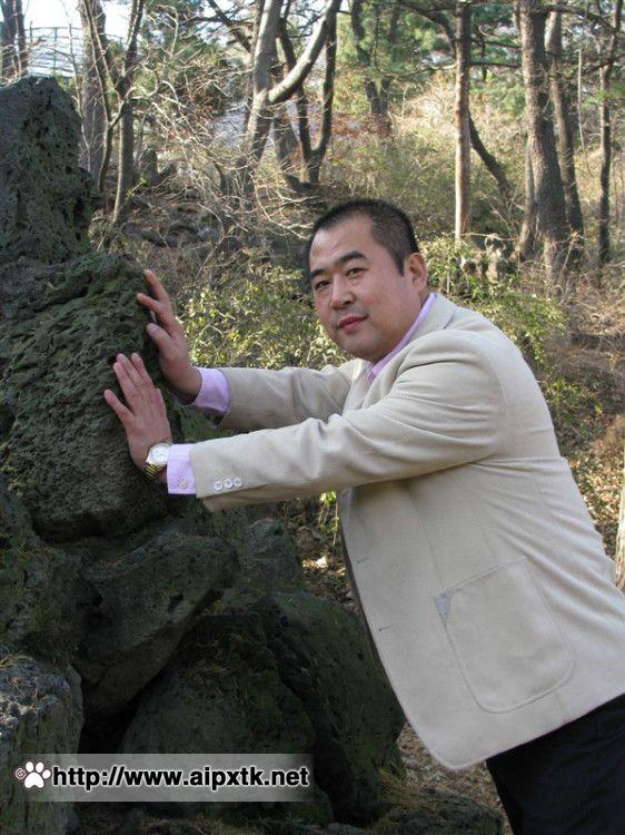 中年胖熊 秋中寄情图片