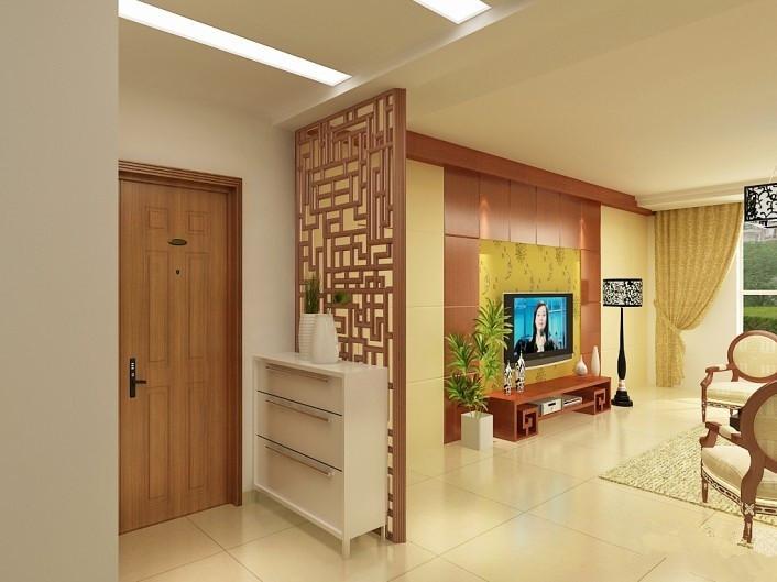 客厅神台柜设计效果图分享展示