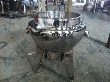 燃气夹层锅的结构形式