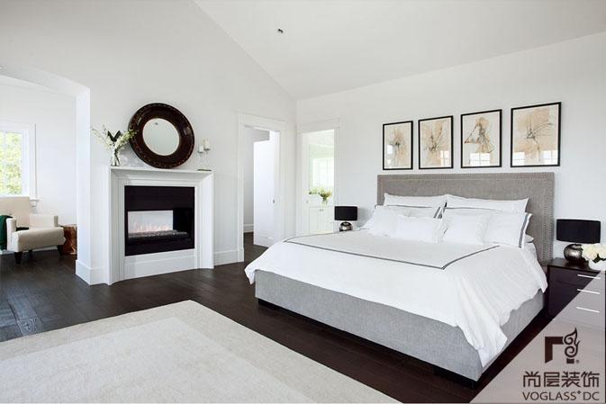 现代卧室装修设计风水布局图片