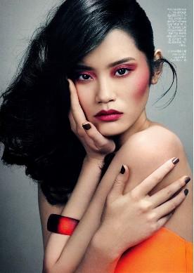 中国超模2013年成绩单 - VOGUE时尚网 - VOGUE时尚网