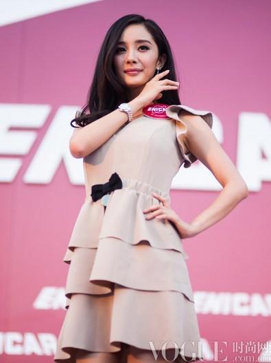杨幂孙俪腕表品牌最爱女明星 - VOGUE时尚网 - VOGUE时尚网