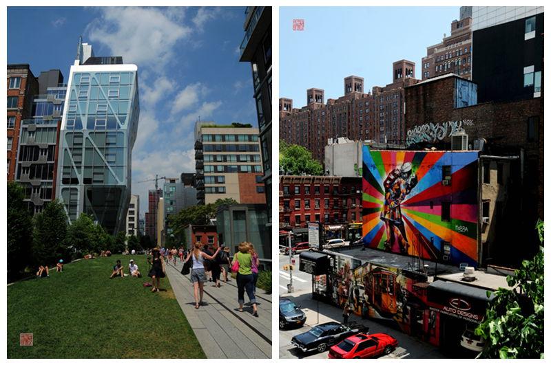 美国行之四十三—曼哈顿切尔西的创意和活力 - 余昌国 - 我的博客