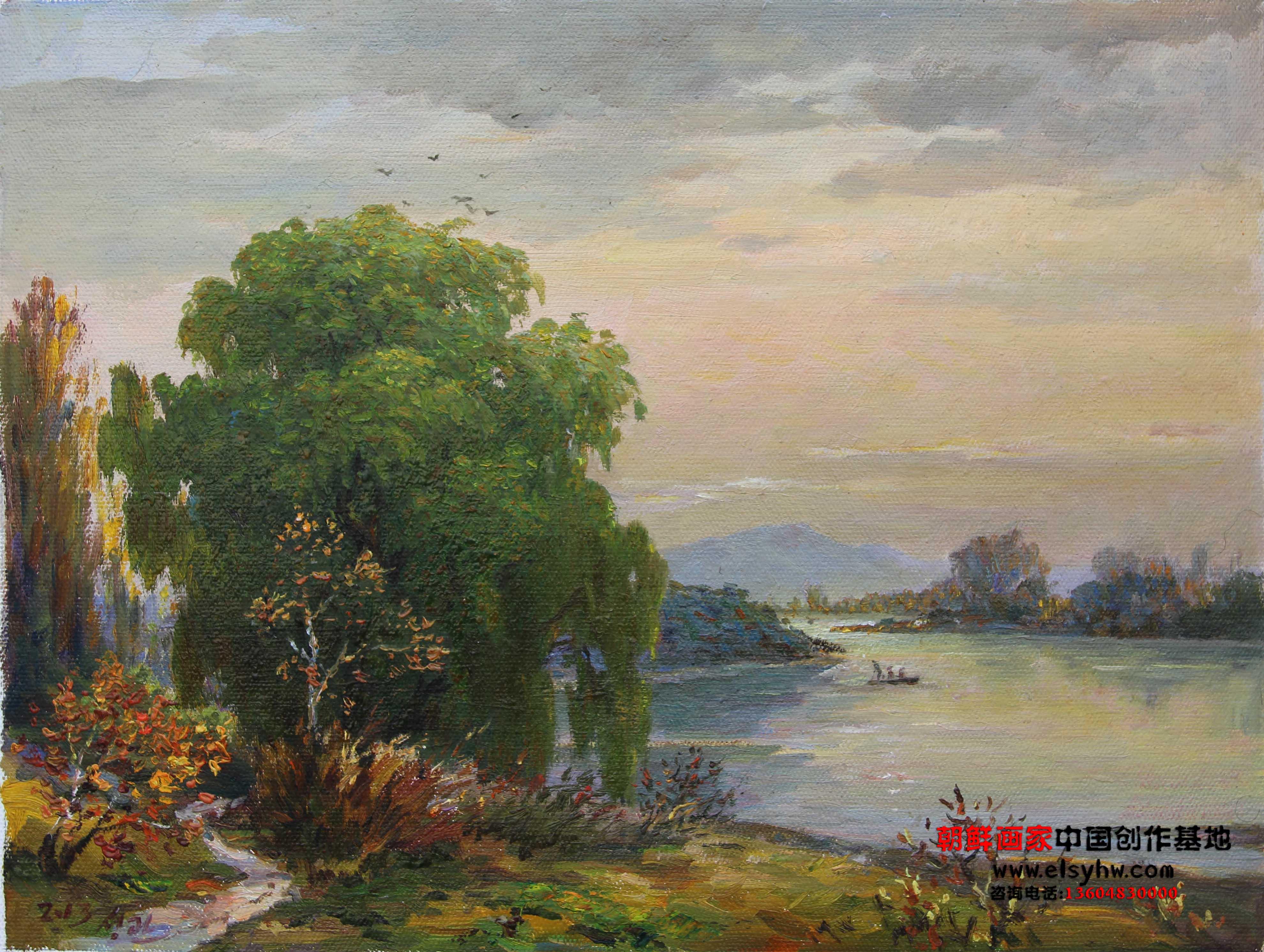 五月朝鲜展览总局配发给画家创作基地的第一批作品