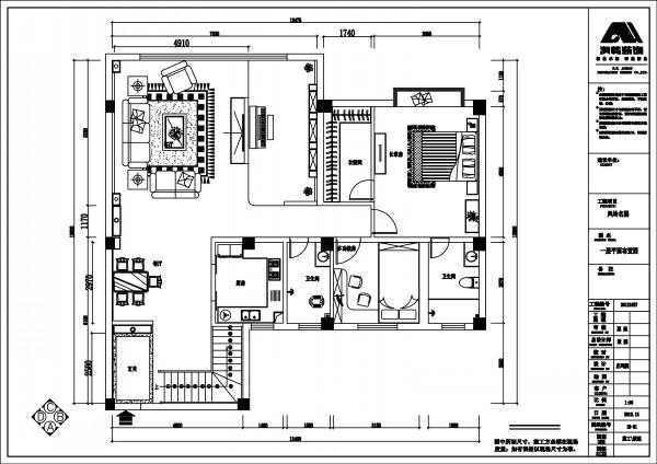 左右对称复式楼设计图展示