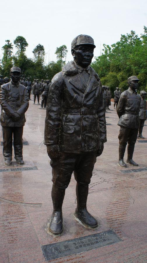 建川博物馆:栩栩如生的中国壮士群雕 - 余昌国 - 我的博客