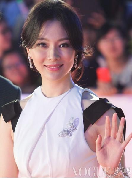 刘诗诗陈数闪耀电视节闭幕式 - VOGUE时尚网 - VOGUE时尚网