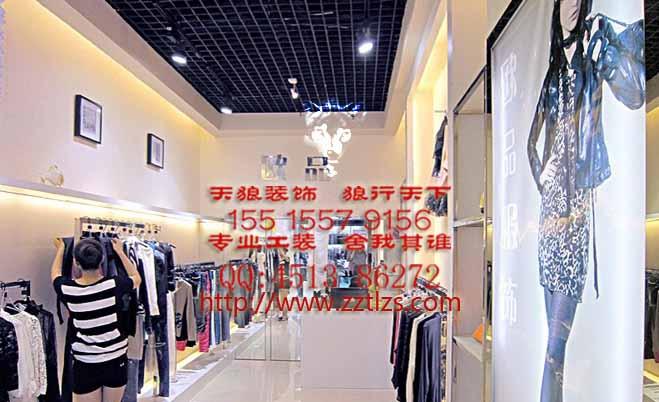 服装店装修陈列细节:挂装标准