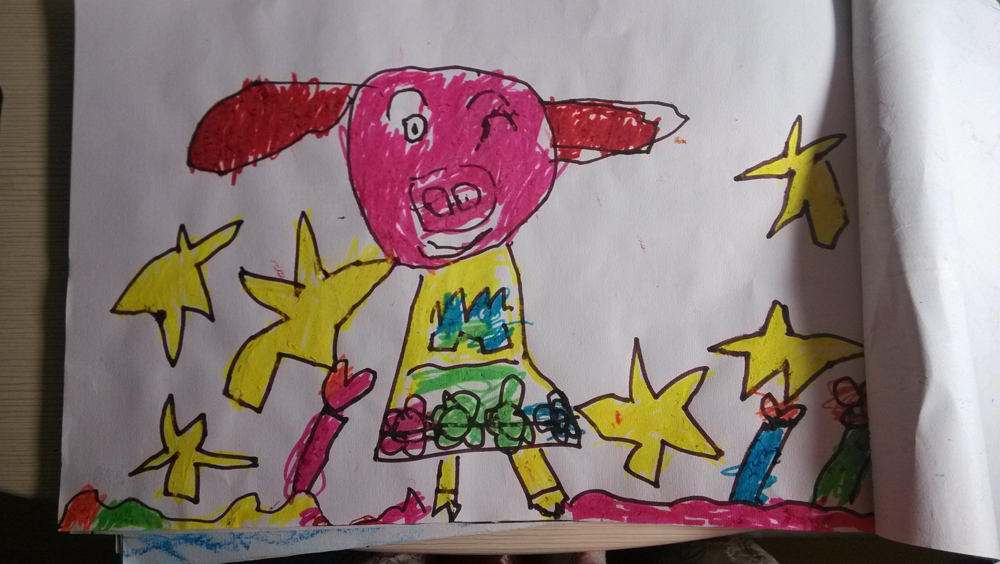 幼儿园中班美术汇报
