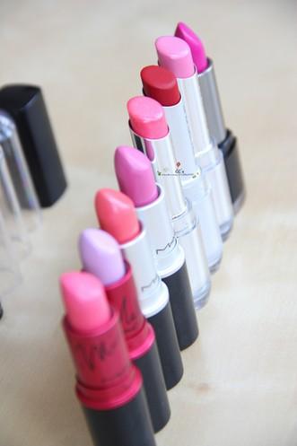 真人示范 多款唇膏对比点评 - VOGUE时尚网 - VOGUE时尚网