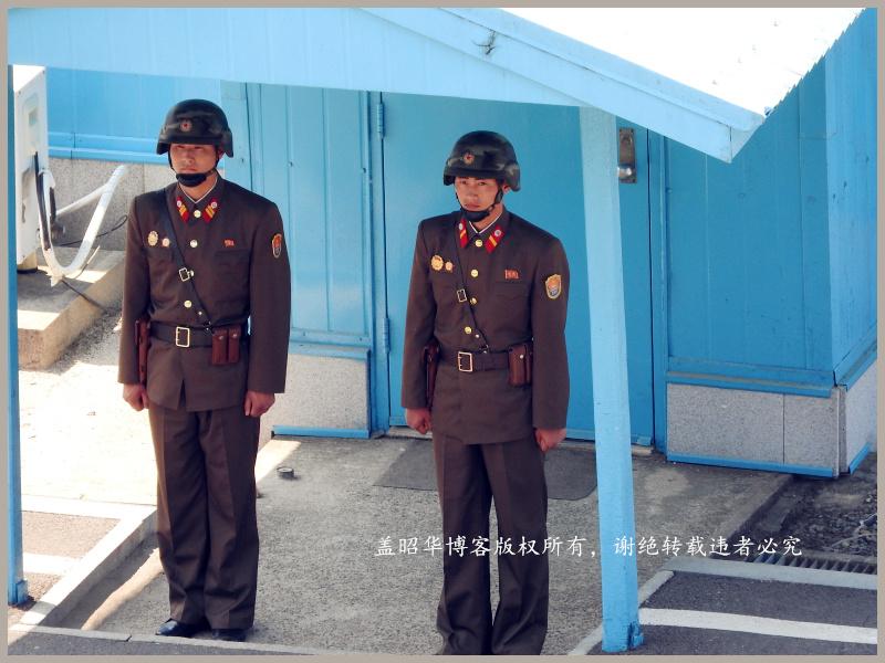 公然要烟的朝鲜边防军 - 盖昭华 - 盖昭华的博客