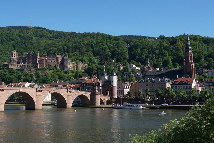 欧洲行32:浪漫德国的缩影——海德堡 - 余昌国 - 我的博客