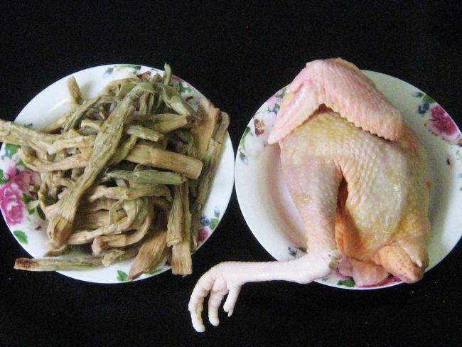 笋干炖鸡 - 慢美食 - 慢 美 食