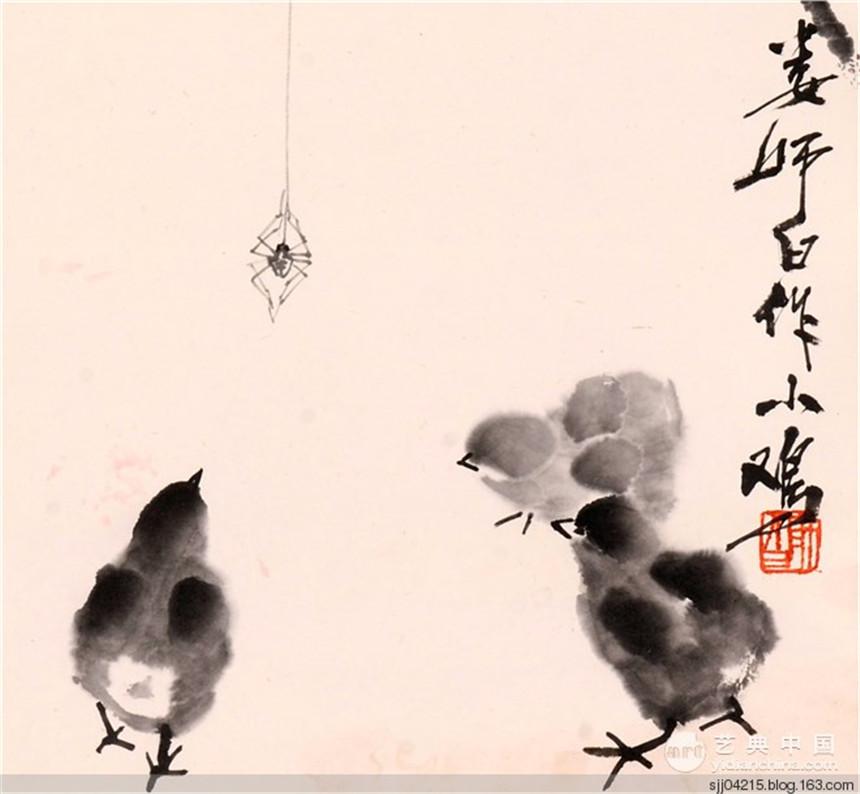 娄师白国画作品欣赏