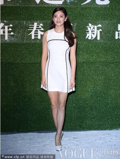 张雨绮惨露麒麟臂不敌熊黛林 - VOGUE时尚网 - VOGUE时尚网