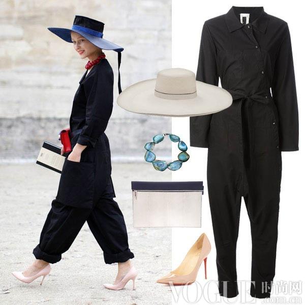 简约连身裤搭出四种不同风貌 - VOGUE时尚网 - VOGUE时尚网