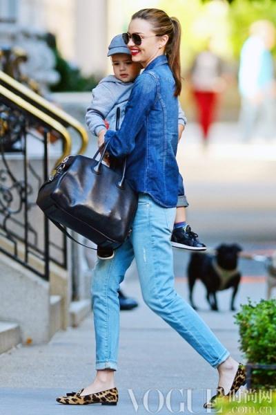 牛仔新鲜搭配 穿出时髦星味 - VOGUE时尚网 - VOGUE时尚网
