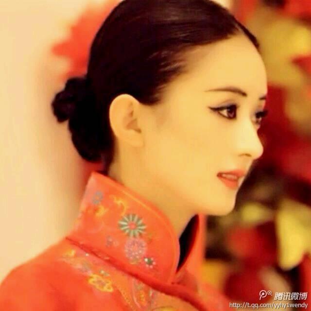 最美新娘#【赵丽颖最新新娘婚纱照&nbsp图片