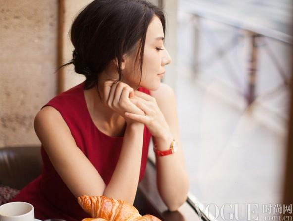 氧气美女高圆圆腕表大片盘点 - VOGUE时尚网 - VOGUE时尚网