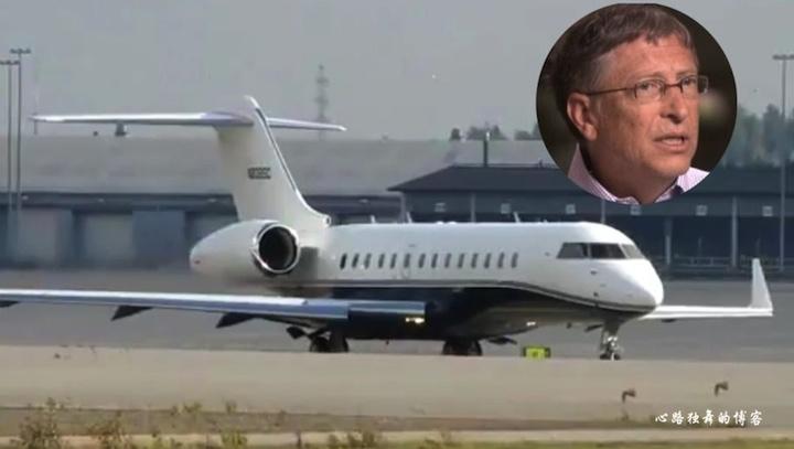 比尔盖茨的私人飞机