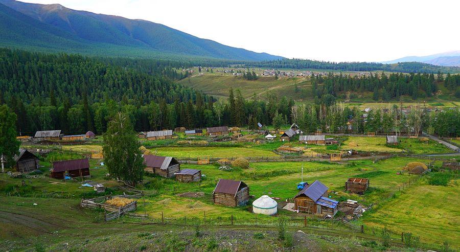 大美新疆:中国西北第一村白哈巴村 - 余昌国 - 我的博客