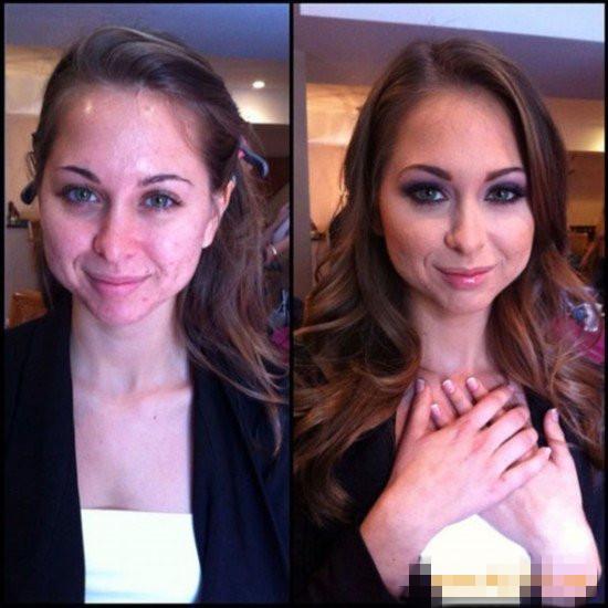 欧美黄片女星化妆前后对比吓人(组图) - 遇果林 - 遇果林-原生态博客