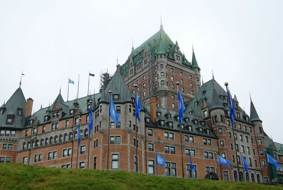 格兰维尔半岛  芳堤娜城堡由加拿大多伦多市丽山酒店公司(fairmount