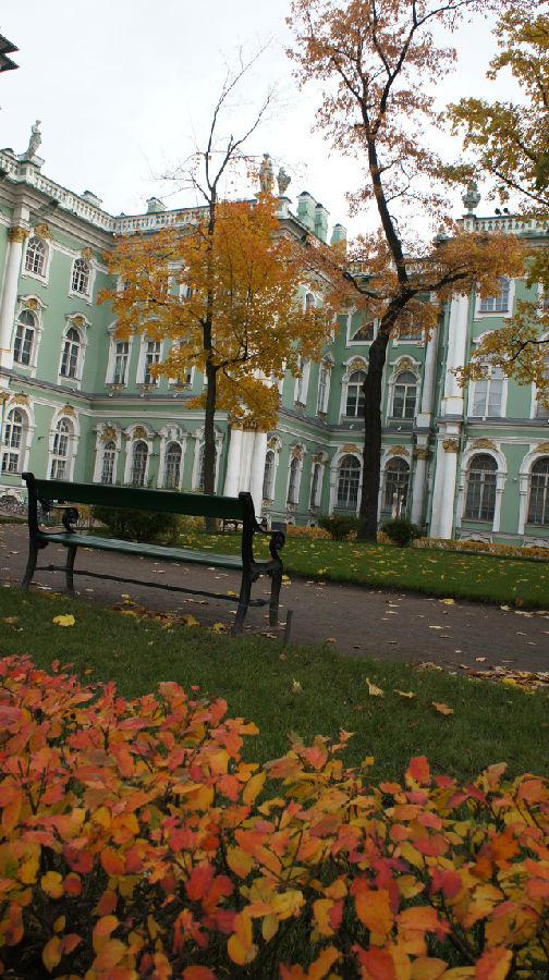 俄罗斯行20:冬宫那优雅的建筑 - 余昌国 - 我的博客