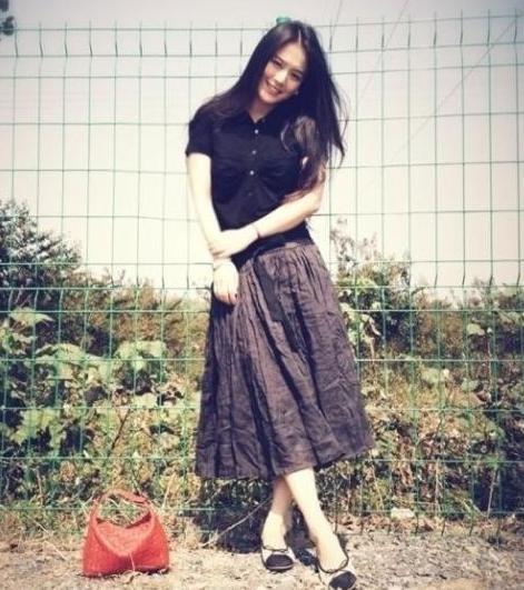 蒋雯丽25岁外甥女清纯美照惊为天人(图) - 中国娃娃 - 在路上,只为温暖我的人