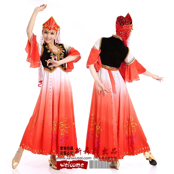 藏族服装设计图 款式