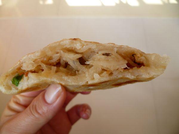 惹味发面饼---萝卜丝油渣饼 - 新月 - 新月美食的博客