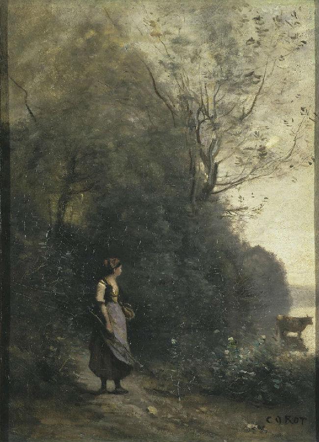 世界经典名画_【世界名画】世界著名画家*卡米耶.柯罗(法国)/油画