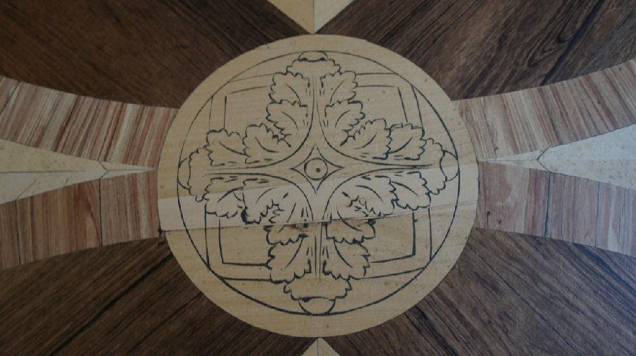 俄罗斯行21:两宫里那精致的地板花纹 - 余昌国 - 我的博客